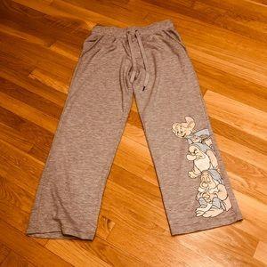 Disney Dwarves sweat pants size small